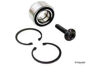 ES#4147 - 893498625D - Front Wheel Bearing Kit - Complete kit, everything you need to perform the job - Ruville - Audi