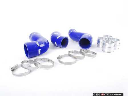 ES#2581564 - FMKT010B - Boost Hose Kit - Blue - Includes all required couplers and clamps - Forge - Audi Volkswagen