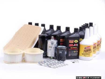 ES#2576019 - 99311032701KT5 - ECS 993 Major Maintenance Kit - Penn Grade 1 Oil - For vehicles with manual transmission - Assembled By ECS - Porsche