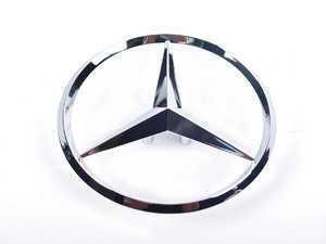ES#1733004 - 2037580058 - Star Emblem - Located on Trunk Lid - Genuine Mercedes Benz - Mercedes Benz