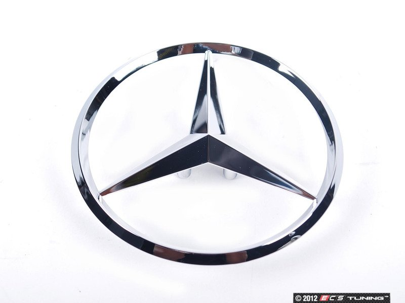 Genuine mercedes benz 2037580058 star emblem for Mercedes benz star logo