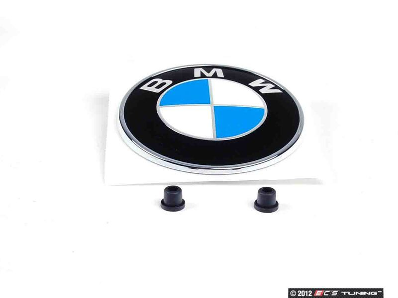 Genuine Bmw 51147146051kt Trunk Emblem Amp Grommets