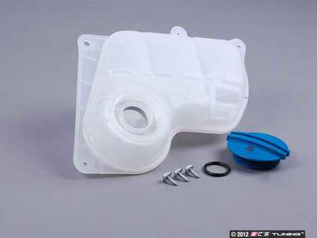 ES#2580983 - 8D0121403LKT1 - Expansion Tank Replacement Kit - Install a brand new expansion tank with a new cap and hardware - Assembled By ECS - Audi Volkswagen