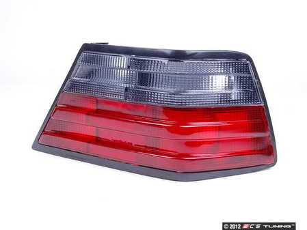 ES#2497301 - 501488-1 - Smoked Tail Lamp Lens - Right (Passenger) Side - Give your pre-face lift car the post-face lift look - ECS - Mercedes Benz