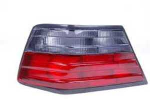 ES#2497299 - 501487-1 - Smoked Tail Lamp Lens - Left (Driver) Side - Give your pre-face lift car the post-face lift look - ECS - Mercedes Benz