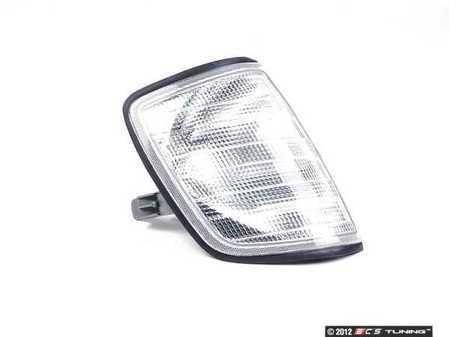 ES#2497303 - 5014201U - Front Flasher Housing - Right (Passenger) Side - White - Bosch - Mercedes Benz