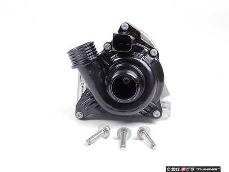 ES#2622810 - 11517632426KT2 -  Water Pump - With Installation Hardware - N54 and N55 engines are prone to water pump failure - replace every 60,000 miles. Includes replacement one-time-use aluminum water pump retaining bolts - Genuine BMW - BMW
