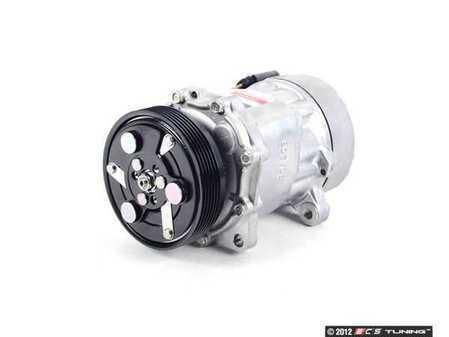 ES#2580912 - 1J0820803L - A/C Compressor  - Includes the electromagnetic clutch assembly - Denso - Audi Volkswagen
