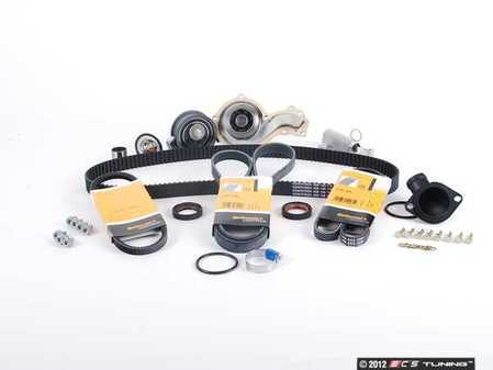 ES#1342 - 058198479 V2 - Ultimate Timing Belt Kit - Complete kit to service your timing belt, water pump, and thermostat - Assembled By ECS - Audi Volkswagen