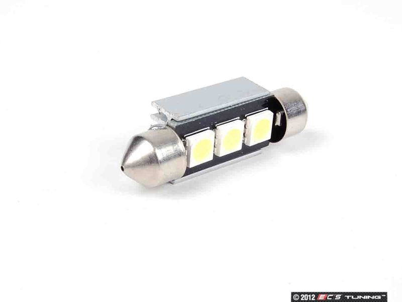 ZiZa  T10W37KT9  B6 Passat LED License Plate Bulbs  Pair