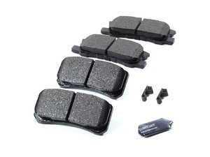 ES#1306747 - act868 - Rear Pro-Act Ceramic Brake Pad Set - Akebono -