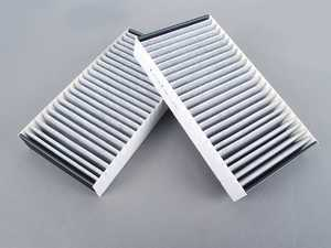 ES#2586696 - 1648300218 - Activated Charcoal Cabin Filters - Set Of Two - Filters the air before it enters the cabin of your vehicle - Corteco - Mercedes Benz
