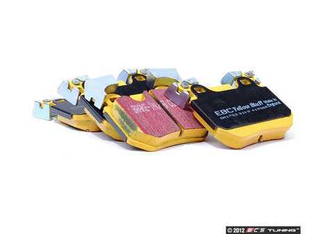 ES#2070881 - DP41996R - Rear YellowStuff Performance Brake Pad Set - A race quailty pad that can be used at the track, and then get you back home again - EBC - BMW