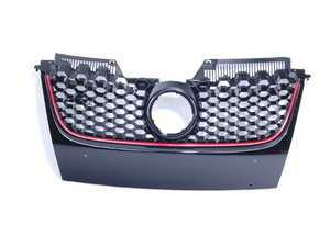 ES#2562335 - 1K1853653BR - Honeycomb Grille - Black GTI honey comb grille with VW emblem whole - JOM - Volkswagen