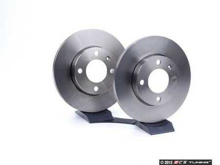 ES#560 - 321698301 - Brake Rotors - Pair (239x12) - Restore the stopping power of your vehicle with new rotors - ATE - Volkswagen