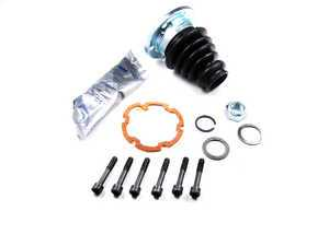 ES#2226204 - 1J0498201A - Front Inner CV Boot Kit - Right - Complete boot kit, including grease and hardware for standard style axle shafts. - GKN Drivetech - Volkswagen