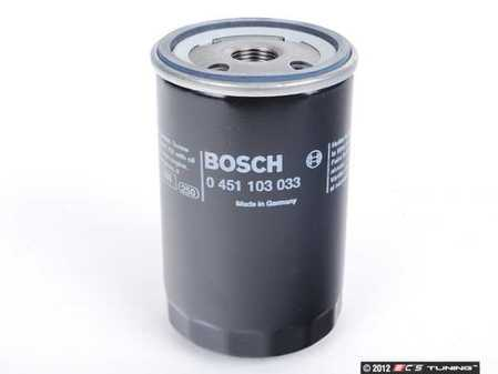 ES#252559 - 06A115561B - Oil Filter - Priced Each - Replaces OEM# 06A115561B - Keep debris out of your oil and keep your engine running healthy - Bosch - Audi Volkswagen