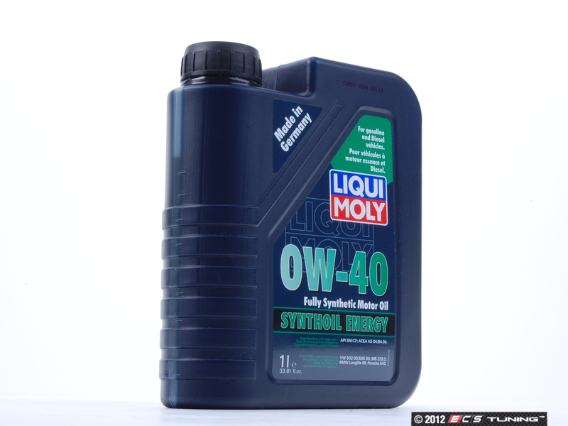 Liqui Moly 2049 Voll Synthese Energy Engine Oil 0w 40