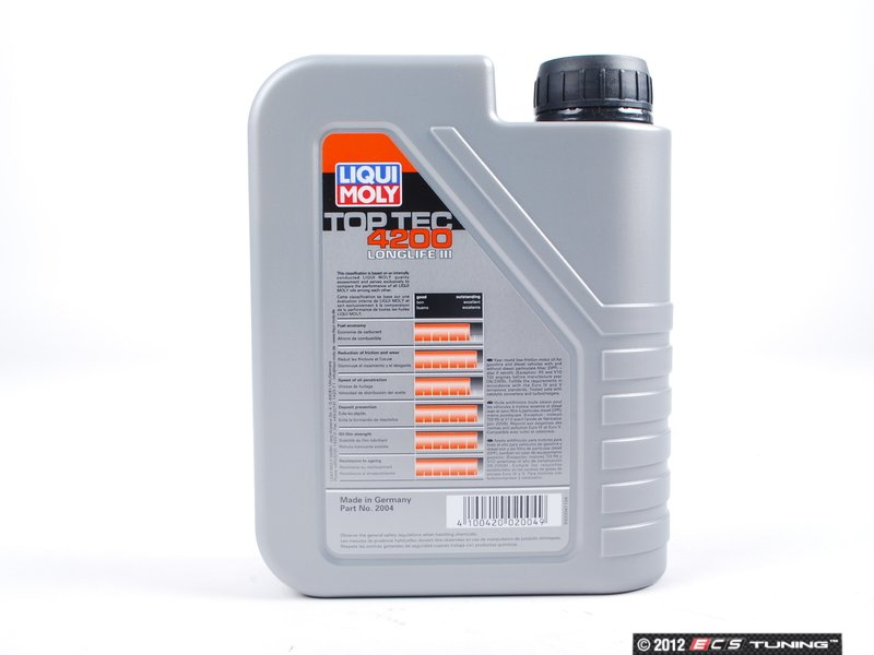 liqui moly 2004 top tec 4200 long life. Black Bedroom Furniture Sets. Home Design Ideas