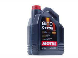 ES#261381 - 368251 - 8100 X-Cess Engine Oil (5w-40) - 5 Liter - A fully synthetic engine oil allowing extended oil drain intervals, while protecting your engine in the harshest conditions - Motul - Audi BMW Volkswagen MINI