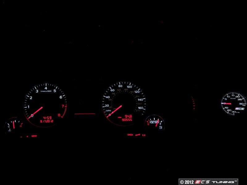 ECS News - Audi B7 A4 2 0T ECS Vent Pod Boost Gauge Kit