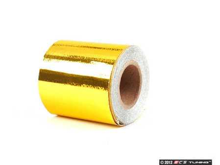 "ES#2568514 - 010396 - Reflect-A-Gold Roll - 2"" X 15' - Control heat and dress up your engine bay - DEI - Audi BMW Volkswagen Mercedes Benz MINI Porsche"
