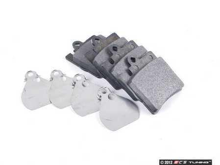 ES#2587980 - 0054201920 - Rear Brake Pad Set - Does not include brake pad wear sensors - ATE - Mercedes Benz