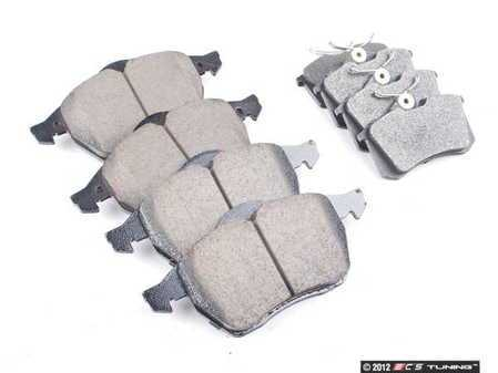 ES#2581326 - D8687AOSMKT - OP parts Brake Pad Kit - Restore the stopping power in your vehicle - Assembled By ECS -