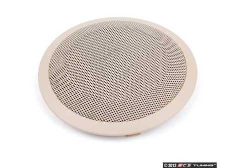 ES#99882 - 51417144557 - Beige Rear Door Speaker Cover - Priced Each - Replace your broken speaker cover - Genuine BMW - BMW