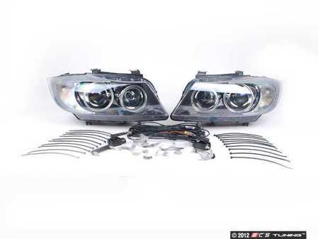 ES#9941 - 63130395396 - European Bi-Xenon Headlight Kit - (NO LONGER AVAILABLE) - Drastically improve lighting performance and your pre-facelift BMW's appearance with this European-spec lighting kit - Genuine European BMW -