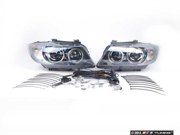 ES#9941 - 63130395396 - European Bi-Xenon Headlight Kit - Drastically improve lighting performance and your pre-facelift BMW's appearance with this European-spec lighting kit - Genuine European BMW - BMW