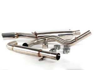 "ES#264001 - FPIM-0275 - Cat-Back Exhaust System - Fully polished 2.5"" system - Billy Boat Performance - Volkswagen"