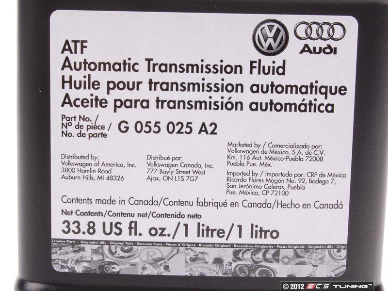 X on Mercedes Transmission Fluid