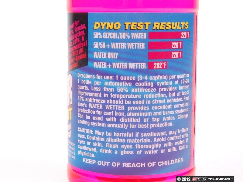 Redline 80204 Water Wetter Coolant Additive 12oz