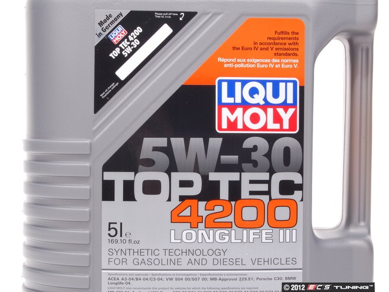 liqui moly 2011 top tec 4200 long life. Black Bedroom Furniture Sets. Home Design Ideas