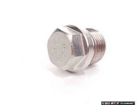 ES#1374917 - 90006501800 - Tank Reservoir Oil Drain Plug - OEM drain plug for dry sump GT1 based engines - Genuine Porsche - Porsche