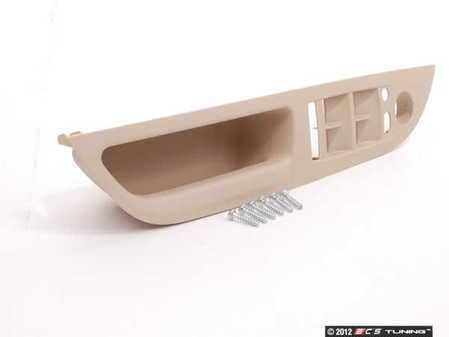 ES#98751 - 51416983709 - Door Handle Recess Trim - Left  - Left front door recess grab handle - Genuine BMW - BMW