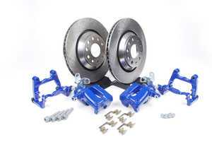 ES#518089 - MK5R32REAR - Rear Big Brake Kit - Plain Rotors (310x22) - Upgrade your stopping power to the MKV R32 setup! - Assembled By ECS - Audi Volkswagen