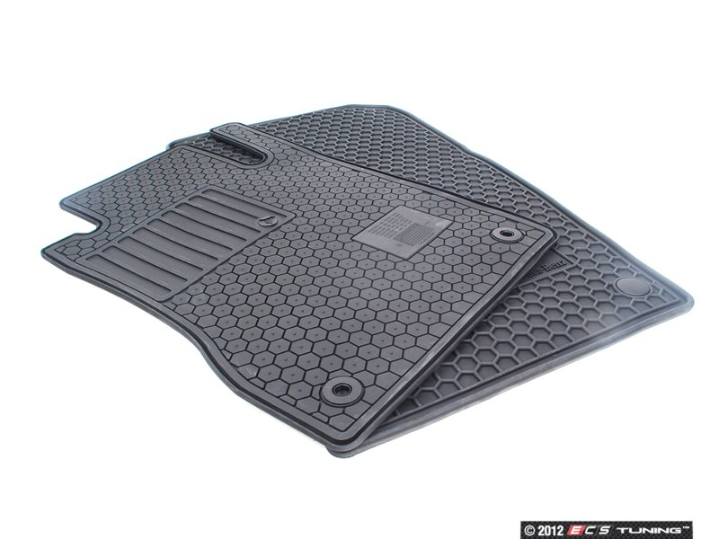 Genuine mercedes benz q6680683 rubber floor mats set for Mercedes benz e350 floor mats