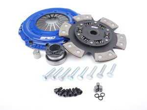 ES#2570128 - SA863 - Stage 3 Clutch Kit - Features a 6 puck, sprung hub disc with a torque rating of 620 ft/lbs - Spec Clutches - Audi