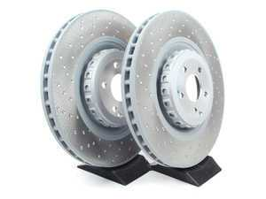 ES#2550944 - 2214211312SET2 -  Front Brake Rotors - Pair  - Brake rotors only -- Does not include new rotor set screws - Genuine Mercedes Benz - Mercedes Benz