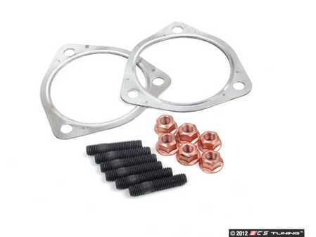 ES#2575816 - 8D0253115CKT2 - Catalytic Converter / Down Pipe Install Kit - Includes all hardware to install a new catalytic converter / down pipe assembly - Assembled By ECS - Audi