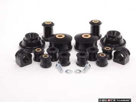 ES#2586556 - MKIVPLYCO23KT - ECS Polyurethane Bushing Kit - Basic - Complete major suspension bushing set - Assembled By ECS - Volkswagen