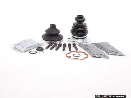 ES#2587743 - 893498203FKT2 - Rear CV Joint Refresh Kit - Priced Each - Includes both inner & outer boots with hardware - Services one axle - Assembled By ECS - Audi