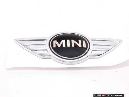 ES#79190 - 51142754973 - Hood Emblem - Replace that faded or damaged chrome with new - Genuine MINI - MINI