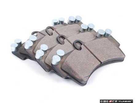 ES#2549864 - 95535193915 - Front Brake Pad Set - Bosch QuietCast brake pads - Bosch - Porsche