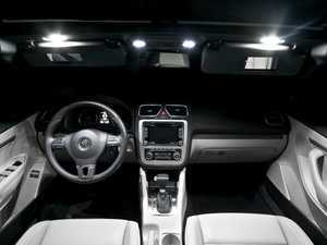 ES#2594184 - EOSVANKT - LED Vanity Mirror Lighting Kit - See details like never before, with LED bulbs for your vanity mirrors from Ziza. - ZiZa - Volkswagen