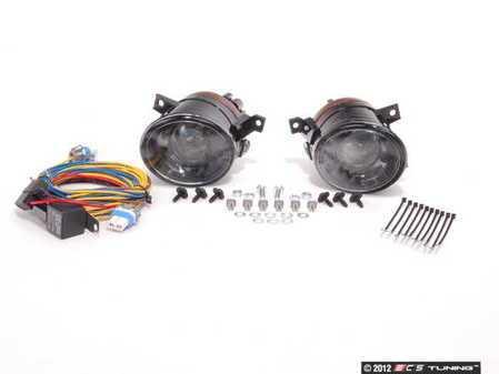 ES#1844192 - 1K0998020 - Fog Light Kit - Projector - Basic fog lamp kit for customers who already have fog grilles - Assembled By ECS - Volkswagen