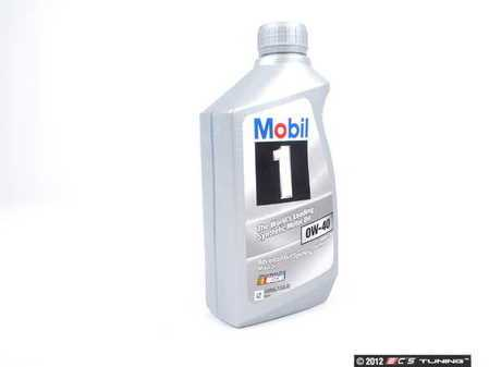 ES#1826601 - Q1090015 - Mobil 1 European Car Formula Engine Oil (0W-40) - 1 Quart - bFull synthetic API SN oil approved by most Euro OEM's including VW/Audi 502.00/505.00, Porsche A40, and MB 229.3/229.5. - Genuine Mercedes Benz - Mercedes Benz