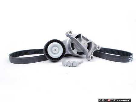 ES#2586326 - 06F9033151KT - Accessory Belt Kit - Keep your drive belt tight with a new belt, tensioner, and hardware. - Assembled By ECS - Audi Volkswagen